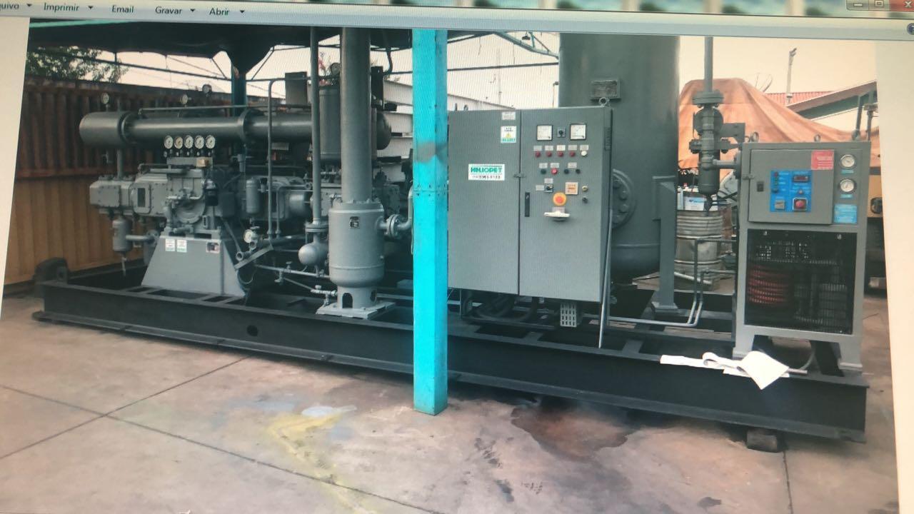 Compressores reformados com garantia