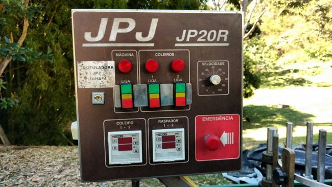 Rotuladora BOPP, marca JPJ. Máquina impecável!