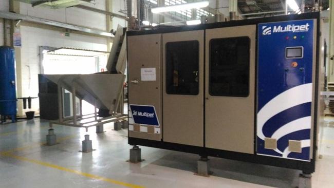 Multipet ESA4000. Máquina 100% retrofitada em 2017