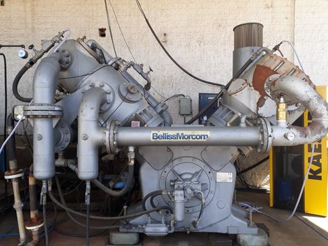 Compressor BellissMorcom Modelo: VHS21H3N Fab.2014