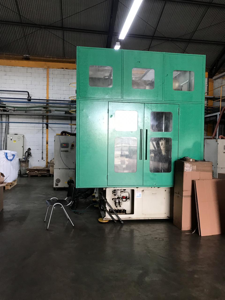 Aoki 350 - Máquina ligada e produzindo